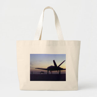 Stealth Fighter Canvas Bag
