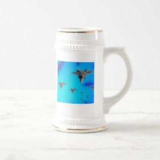 'Stealth Formation' Beer Stein