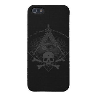 Stealth Freemason Skull & Cross Bones iPhone 5 Covers