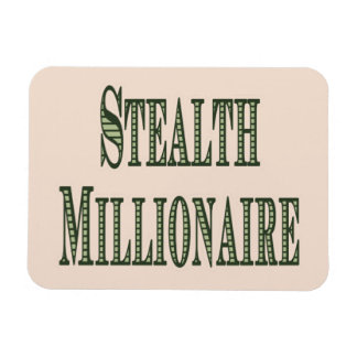 Stealth Millionaire Flexible Magnet