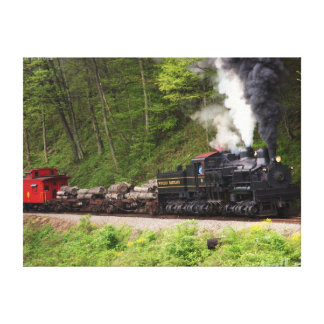 Steam and Smoke Canvas Print