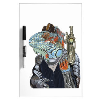 Steam Dragon Sheriff Dry Erase Whiteboards