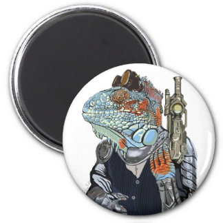 Steam Dragon Sheriff Magnet