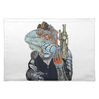 Steam Dragon Sheriff Placemat