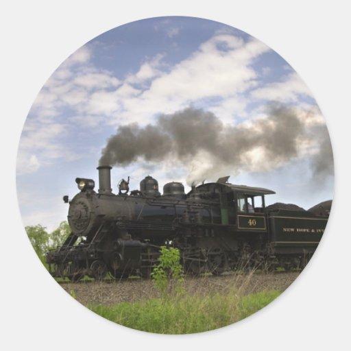 Steam Engine #40 Sticker