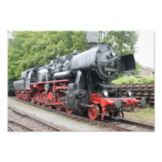 Steam engine 52 8154 photograph