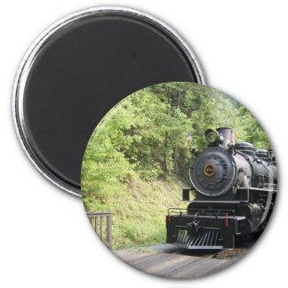 steam engine 6 cm round magnet