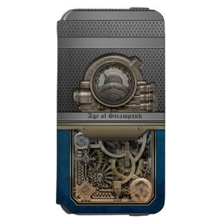 Steam Engine.Age of Steampunk. Incipio Watson™ iPhone 6 Wallet Case