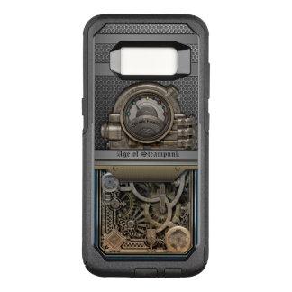 Steam Engine.Age of Steampunk. OtterBox Commuter Samsung Galaxy S8 Case