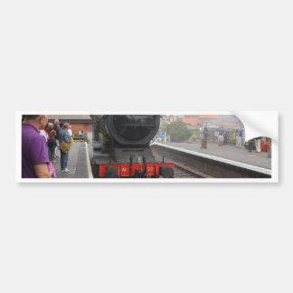 Steam Engine at Sheringham Bumper Sticker