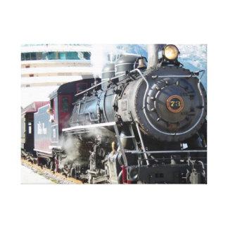 Steam Engine Canvas