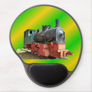 Steam engine gel mouse pad