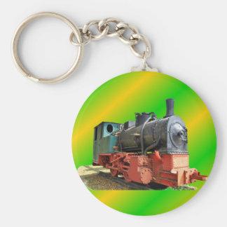 Steam engine key ring
