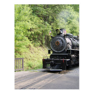 steam engine postcards