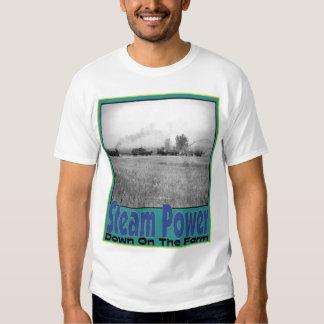 Steam Engine Power T-shirts