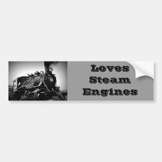 Steam Engine Sticker Bumper Sticker