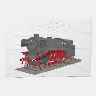 Steam engine towels