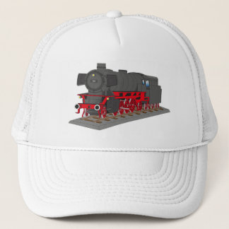 Steam engine trucker hat