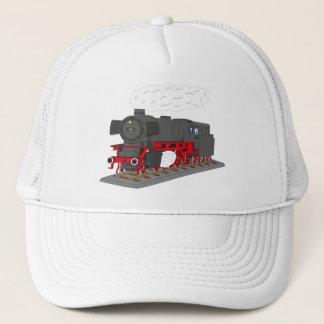 Steam engine trucker hat