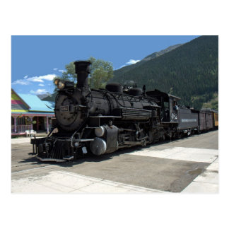 Steam locomotive 482, Durango & Silverton Postcard