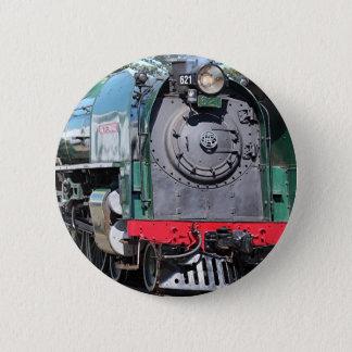 Steam Locomotive, Goolwa, South Australia 6 Cm Round Badge