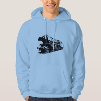 Steam Locomotive - High Contrast Hoodie