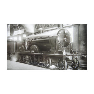 Steam Locomotive (Lady of Avenal) Canvas Print