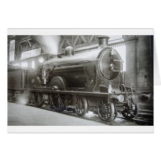 Steam Locomotive (Lady of Avenal) Card