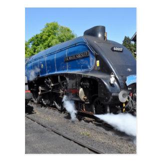Steam Locomotive No 60007 Postcard
