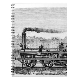Steam locomotive notebooks
