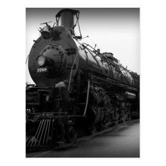 Steam Locomotive Post Card
