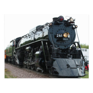 Steam Locomotive Postcard