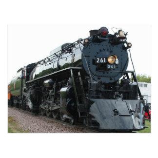 Steam Locomotive Postcard