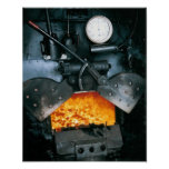 Steam Locomotive Print, highest quality Poster