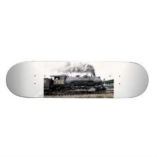 Steam Locomotive Skateboard
