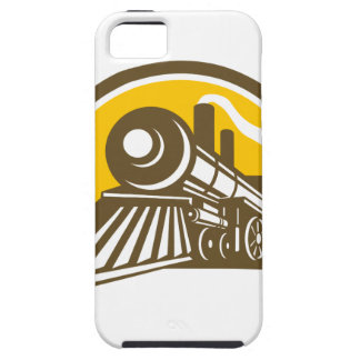 Steam Locomotive Train Icon iPhone 5 Cases