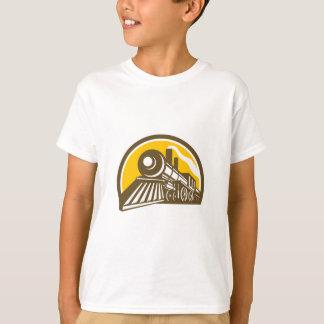 Steam Locomotive Train Icon T-Shirt