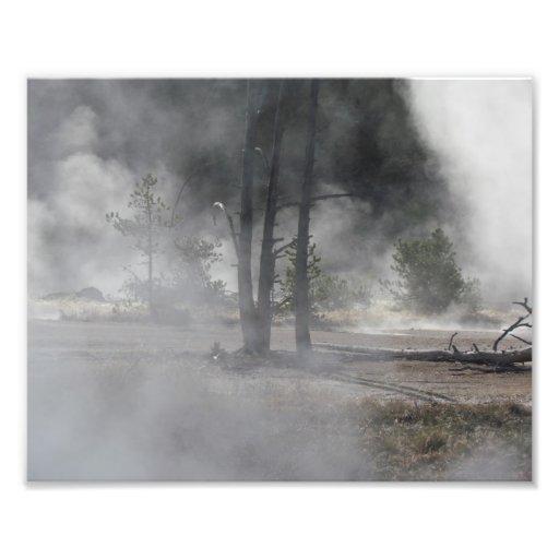 Steam Photo