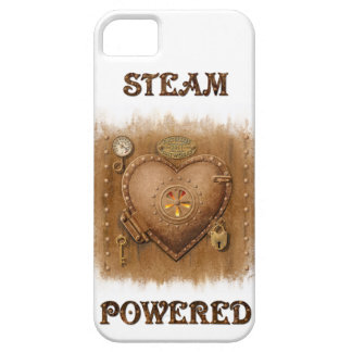 Steam Powered Heart iPhone4 Case