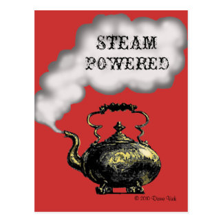 Steam Powered Postcard