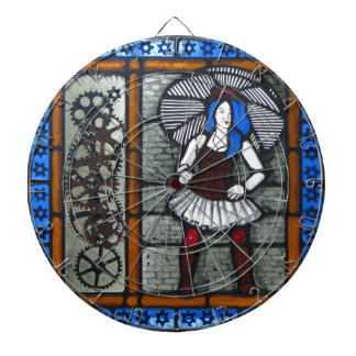 Steam Punk Girl Dartboard