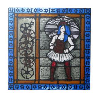 Steam Punk Girl Tile