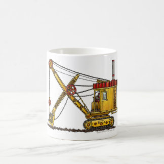 Steam Shovel Digger Construction Mugs