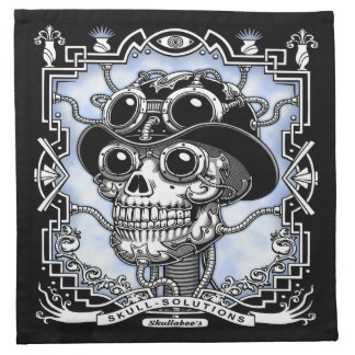 Steam Skullabee Napkin