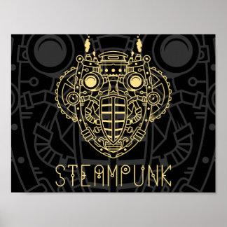 Steam Symbol Icon Poster