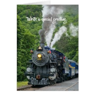 Steam Train 2 Card