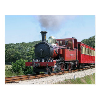 Steam train at Castletown Isle of Man Post Cards