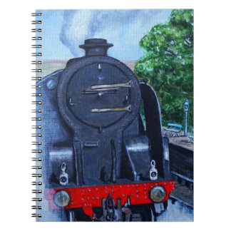 Steam Train at the Station Note Book