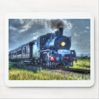 STEAM TRAIN AUSTRALIA WITH ART EFFECTS MOUSE PAD