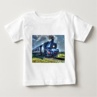 STEAM TRAIN AUSTRALIA WITH ART EFFECTS T SHIRTS